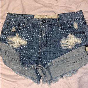 one teaspoon shorts size 25